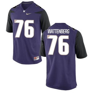 Luke Wattenberg Nike Washington Huskies Men's Limited Football Jersey  -  Purple